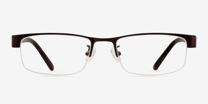 Coffee Beckett -  Classic Metal Eyeglasses