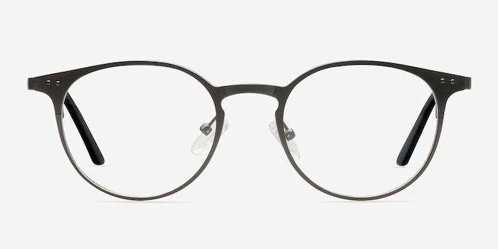 Gunmetal Thin Line -  Fashion Metal Eyeglasses
