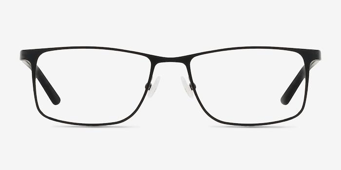 Black  Clinton -  Classic Metal Eyeglasses