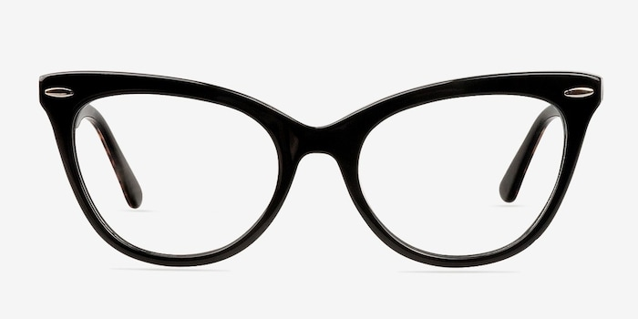 Black Anika -  Fashion Acetate Eyeglasses