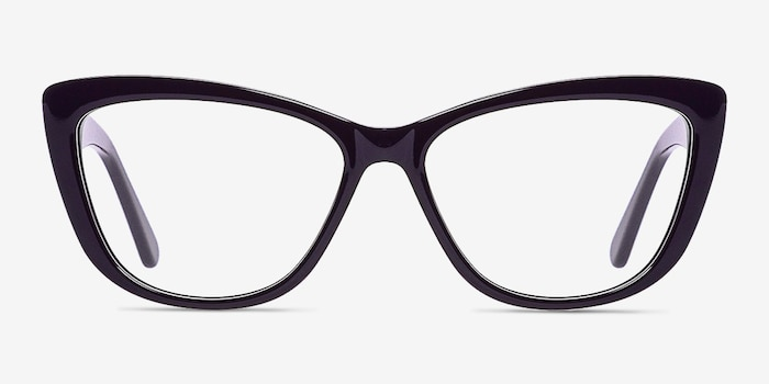 Purple Charlotte -  Fashion Acetate Eyeglasses