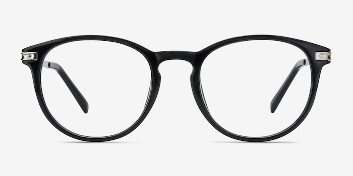 Black Daphne -  Fashion Plastic Eyeglasses