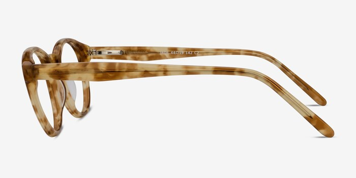 Jade Tortoise Acetate Eyeglass Frames from EyeBuyDirect, Side View