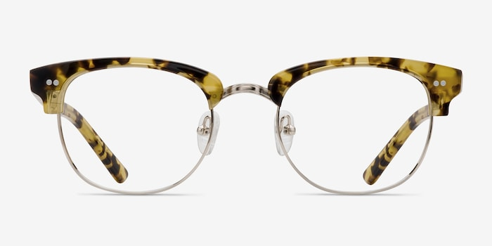 Concorde Tortoise Acetate Eyeglass Frames from EyeBuyDirect, Front View