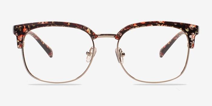 Silver/Floral Charleston -  Fashion Plastic Eyeglasses
