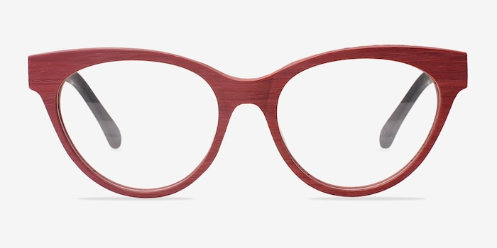 Matte Red Jane Birkin -  Fashion Acetate Eyeglasses
