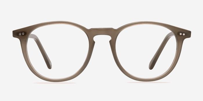 Taupe Prism -  Designer Acetate Eyeglasses