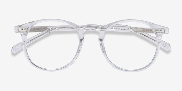 Prism Translucent Acetate Eyeglass Frames from EyeBuyDirect, Closed View