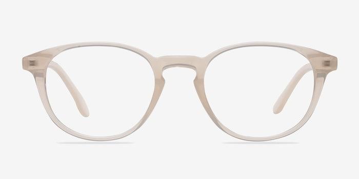 Sea Breeze | Clear White Plastic Eyeglasses | EyeBuyDirect