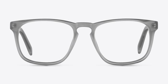 Matte Gray Rhode Island -  Colorful Acetate Eyeglasses