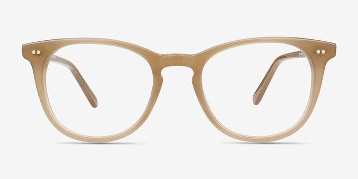 Taupe Flume -  Fashion Acetate Eyeglasses