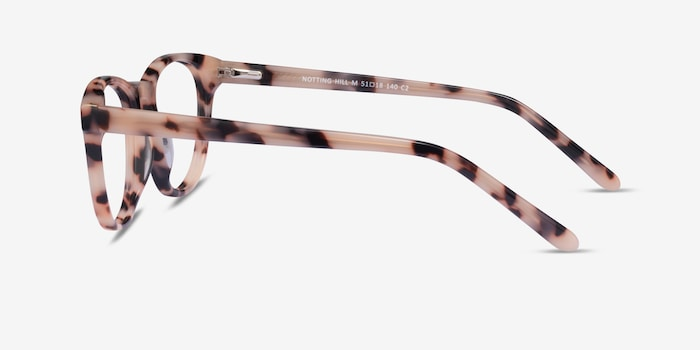 Notting Hill Ivory Tortoise Acetate Eyeglass Frames from EyeBuyDirect, Side View