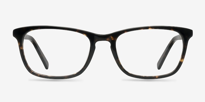 Wildfire Tortoise Acetate Eyeglass Frames from EyeBuyDirect, Front View