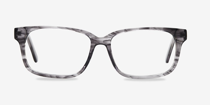 Clear Gray Edit -  Acetate Eyeglasses
