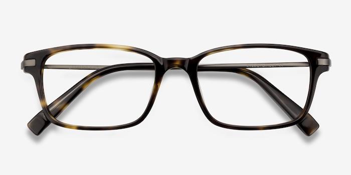 Dreamer Tortoise Acetate Eyeglass Frames from EyeBuyDirect, Closed View