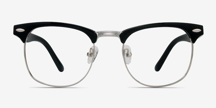Black Little Coexist -  Vintage Metal Eyeglasses