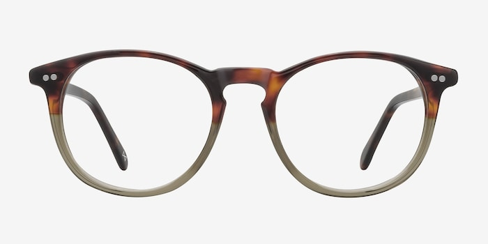 Prism Cafe Glace Acetate Eyeglass Frames from EyeBuyDirect, Front View