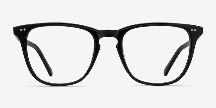 Jet Black Exposure -  Vintage Acetate Eyeglasses