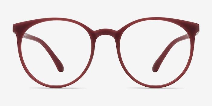 Matte Red Portrait -  Plastique Lunettes de Vue