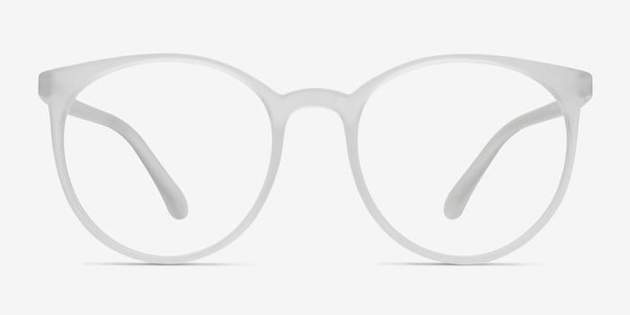 Portrait | Matte Clear Plastic Eyeglasses | EyeBuyDirect