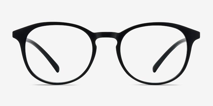 Matte Black Brace -  Plastic Eyeglasses