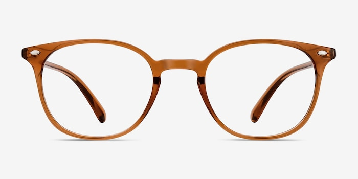 Hubris | Clear Copper Plastic Eyeglasses | EyeBuyDirect