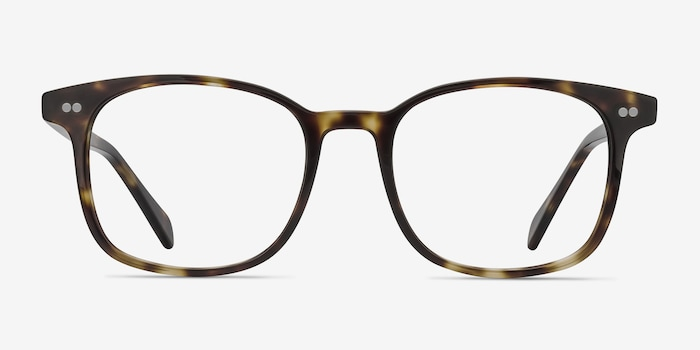 Lift Tortoise Acetate Eyeglass Frames from EyeBuyDirect, Front View