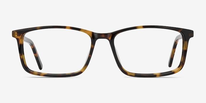 Crane Tortoise Acetate Eyeglass Frames from EyeBuyDirect, Front View