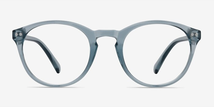 Clear Blue Revolution -  Plastic Eyeglasses