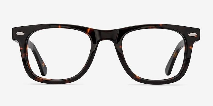 Dark Tortoise Blizzard -  Acetate Eyeglasses