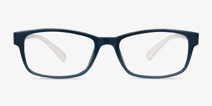 Danny Green Plastic Eyeglass Frames from EyeBuyDirect, Front View