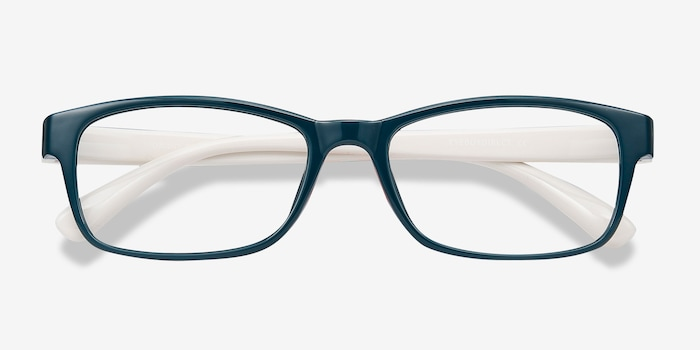 Danny Green Plastic Eyeglass Frames from EyeBuyDirect, Closed View