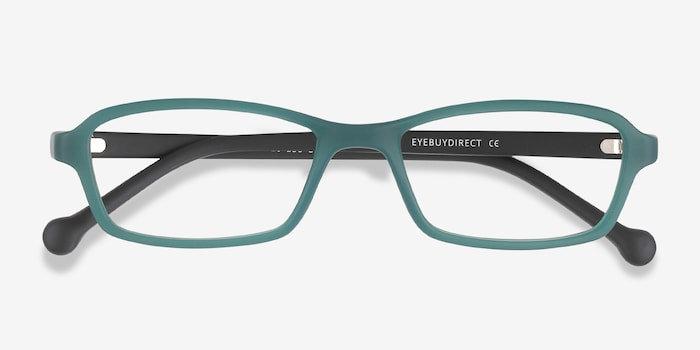 Nimbus Green Plastic Eyeglass Frames from EyeBuyDirect, Closed View
