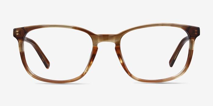 Brown Emblem -  Acetate Eyeglasses