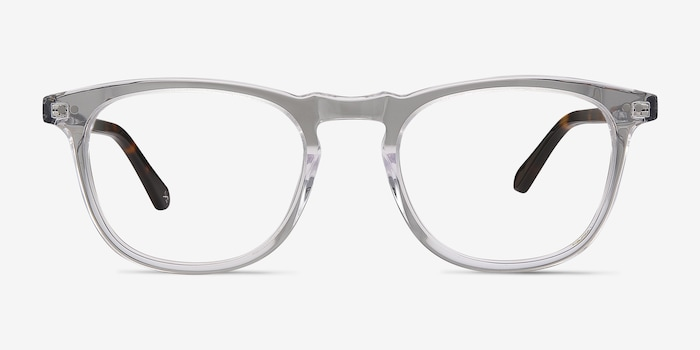 Illusion Clear Acetate Eyeglass Frames from EyeBuyDirect, Front View