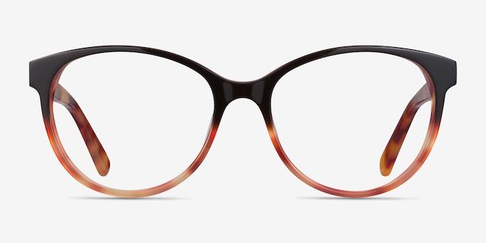 Red Tortoise Laya -  Acetate Eyeglasses