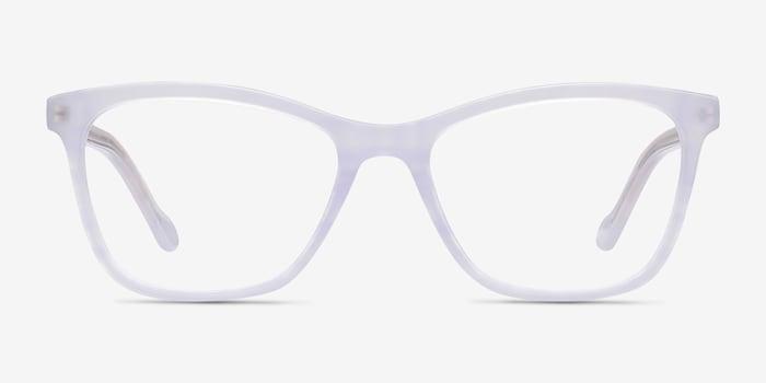Clear Purple Cannes -  Acetate Eyeglasses