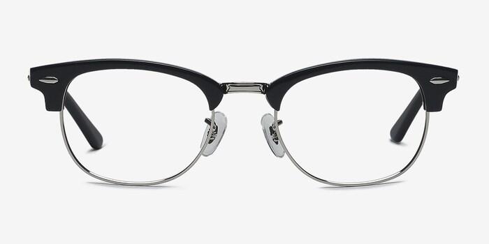 Navy Silver Sweet Janet -  Fashion Acetate Eyeglasses