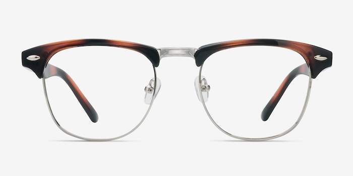 Coexist Tortoise Metal Eyeglass Frames from EyeBuyDirect, Front View