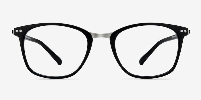 Matte Black Savannah -  Fashion Metal Eyeglasses