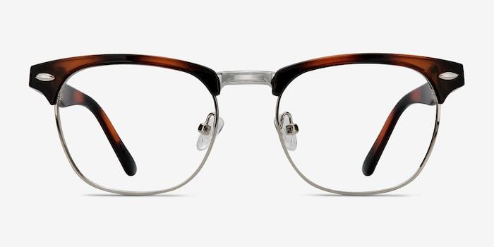 Tortoise Coexist -  Metal Eyeglasses