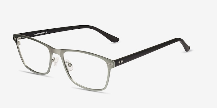 Comity Light Green Acetate Eyeglass Frames from EyeBuyDirect, Angle View