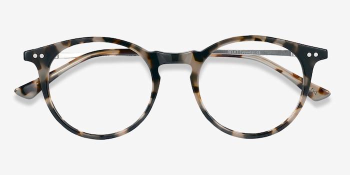Luminous Tortoise Acetate Eyeglass Frames from EyeBuyDirect, Closed View