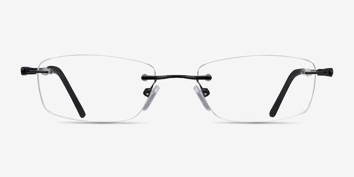 Black Benson -  Lightweight Metal Eyeglasses
