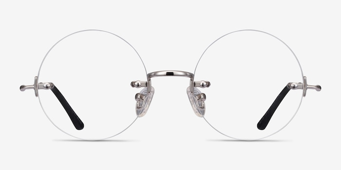 Palo Alto | Silver Metal Eyeglasses | EyeBuyDirect