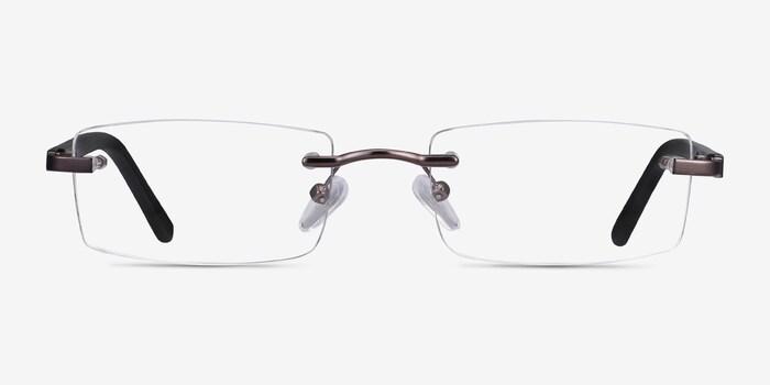 Gunmetal Whistle -  Lightweight Metal Eyeglasses