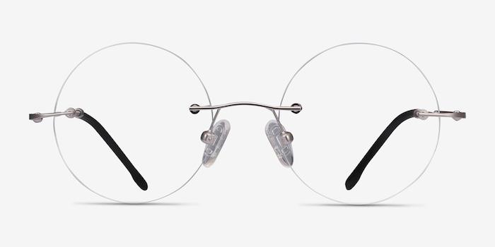 Silver Altus -  Metal Eyeglasses