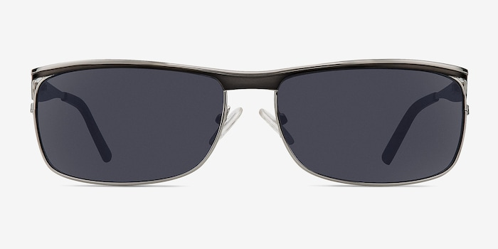 Silver/Black Brighton -  Metal Sunglasses