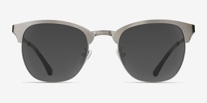 Gunmetal Veil -  Vintage Metal Sunglasses