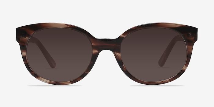 Brown/Tortoise Matilda -  Vintage Plastic Sunglasses